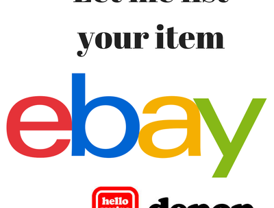 List your items on Ebay/Depop