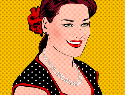 Draw A Professional Pop Art Portrait