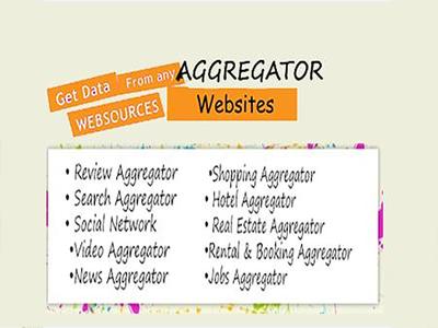 Design and Develop Aggregator Website