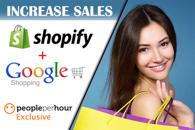 Increse sales Shopify website with Google Adwords Shopping Ads