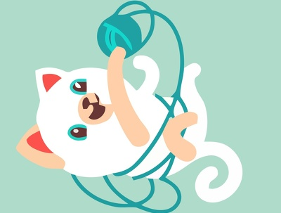 Draw cute cartoon portrait of your cat or dog, in 24 hours