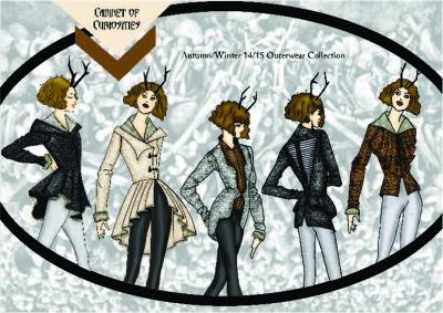 Create 10 Fashion design outfits