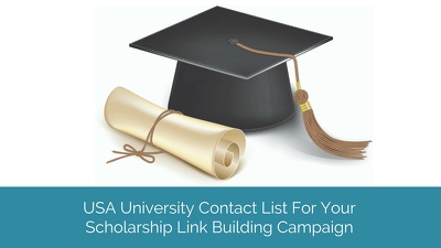 Give You Top 300 University Contact List For Scholarship Link