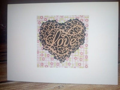 Provide 4 handmade greetings cards including postage (UK only)