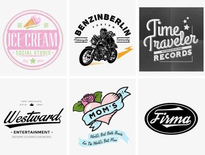 Create - Design a Retro - Vintage Logo Badge