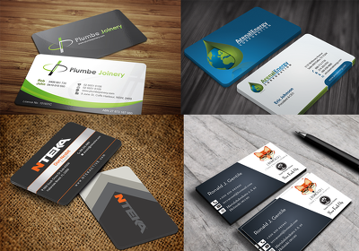 Design 3 concept business card for your business