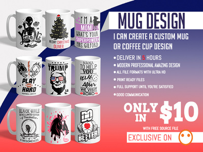 Create A Custom Mug Or Coffee Cup Design
