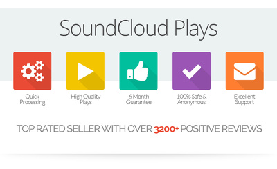 SoundCloud Boost -5000 plays,10 followers, 10 likes