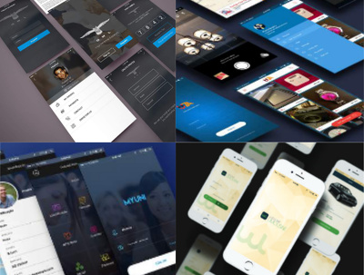 Design mobile application UI/UX for iOS, Android and Windows