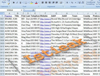Do Web Search and data entry work (200 rows)