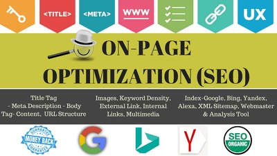 Do Granted On-Page SEO Optimized-website[A to Z 100% W.Hat]