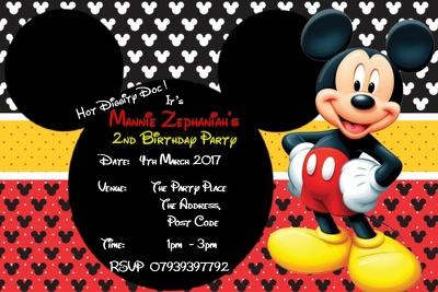 Design unique personalised invitations for all occasions