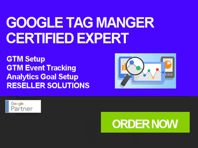 Be your Google Analytics / Google Tag Manager Department