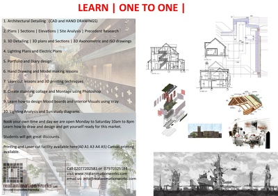 Help in Architectural projects one to one with great results