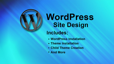 Create a WordPress Site Design with a Child Theme