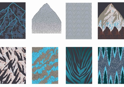 Design a print/pattern for textiles
