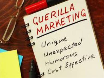 Guerrilla Marketing Strategy