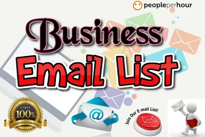 Provide  niche based   Targeted  verified business email list