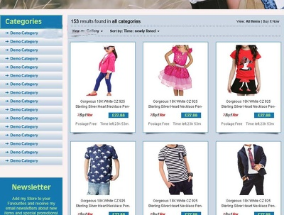 Design custom Html eBay store and Listing template