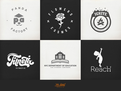 Design Top Quality Modern Logo & Business Card Unlimited Concept