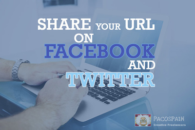 Share your link on Twitter 255 times & Facebook 255 times + more