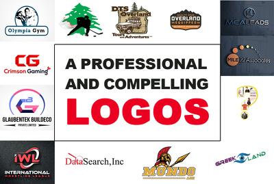 Design creative logo concepts with unlimited revisions+favicon