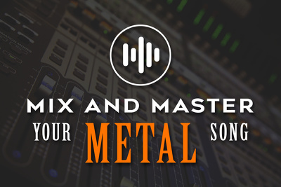 Mix and master your ROCK/METAL song