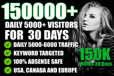 Speed  Targeted 150000 Website,Traffic,Visitors