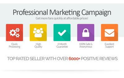 2000 Social Media Promotion