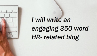 Write a 350 word HR-related blog