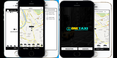 Uber style Taxi Booking App