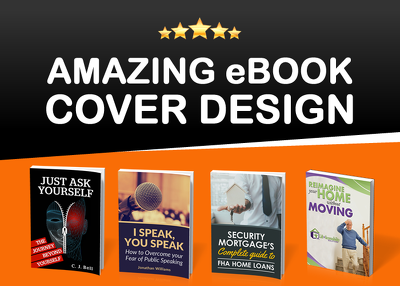 Design amazing 3D ebook or kindle cover