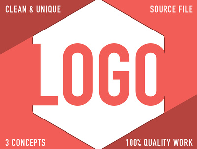 Design a Bespoke Logo with 3 concepts including quality work