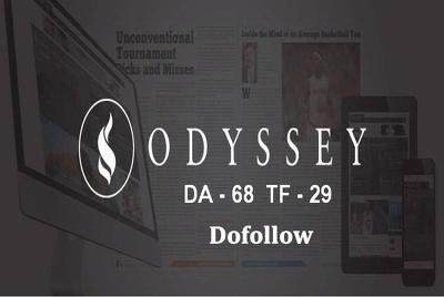 Write and Guest Post On Theodysseyonline Da68 Tf29 Dofollow
