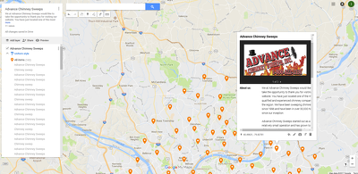 Create 50 Google Map points For Your Business