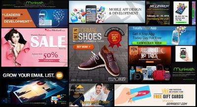 Design A Unique Website Banner Vinyl Or Animated Banner Ads