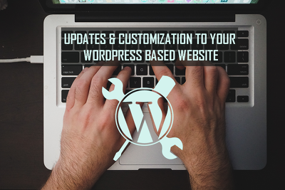 1 hour of updates/ customization to your Wordpress based website