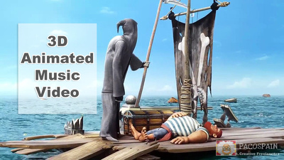 Create your 3D animated music video