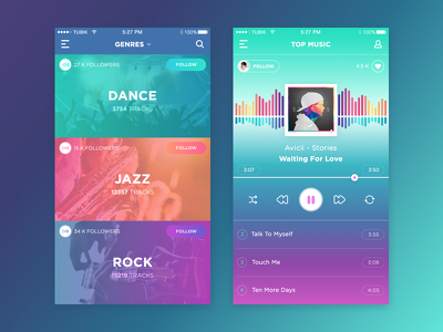design professional UI / GUI/ UX For Android/iOS
