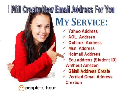 Create 15 Email Account For You