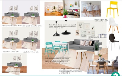 Create a new look of one of your rooms at home