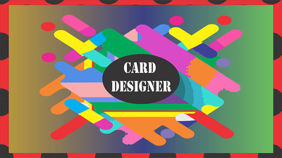 Design unique and wonderful business card for your company