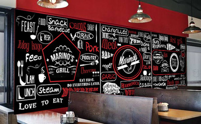 Do professional wall mural for office, gym, restaurant , house