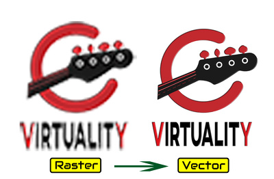 Vectorize, vector trace your logo, any graphic images in 3 hour