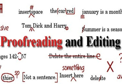 Edit, proof read and amend up to 2000 words