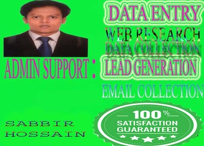 Do Internet research and lead generation