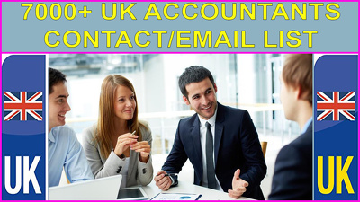 Send you 7000 records UK Accountants/Firm Contact/email list