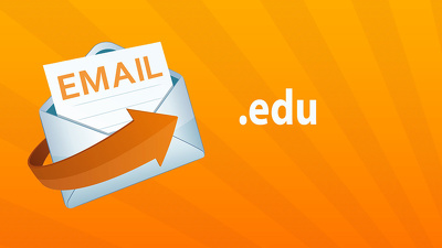 Provide an .edu email account for business and students offers