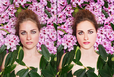 Enhance 5 Portrait Color, Brightness, Retouching With Editing