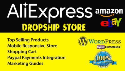 Setup Your Aliexpress Amazon Dropshipping Ecommerce WP Store